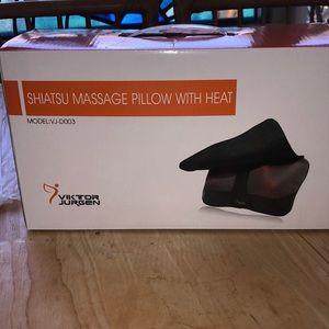 Electric Shiatsu Heated Massage Pillow